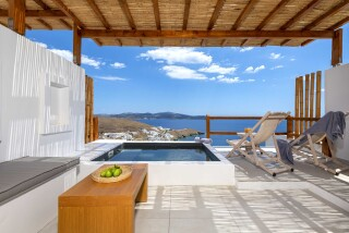 Honeymoon Suite N11 oneiro sea view