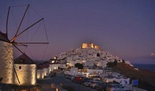 astypalaia island oneiro suites chora by night