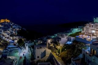 astypalea oneiro suites night view
