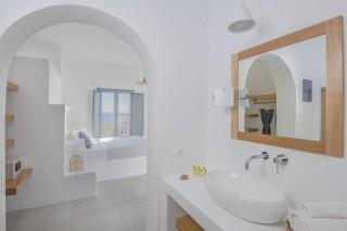 deluxe room oneiro suites amenities