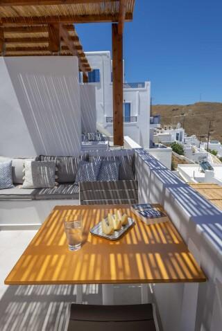 deluxe room oneiro suites balcony