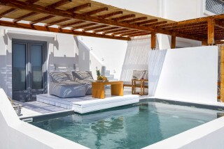 executive suite oneiro amenities
