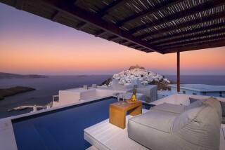 executive suite oneiro sunset