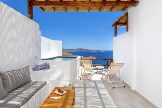 junior suite oneiro sea view veranda