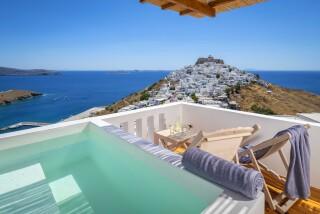 luxury suites oneiro on astypalea island